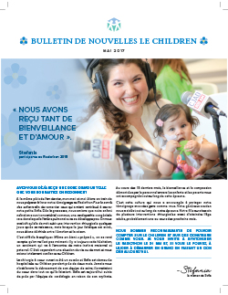 Couverture du magazine Le Children