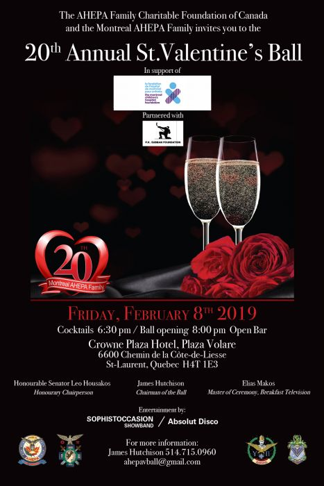20th Annual St-Valentine's Ball