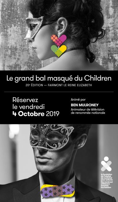 Le grand bal masqué du Children 2019 - 20e édition
