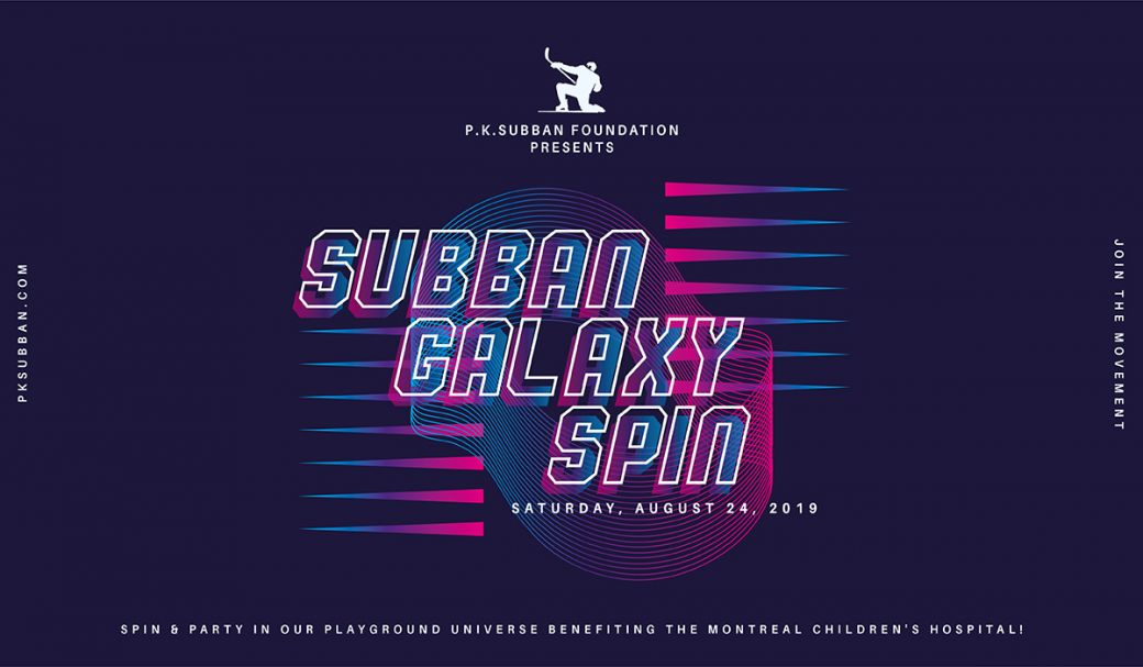 Gabrielle Masliah - Children's hospital foundation SUBBAN GALAXY SPIN